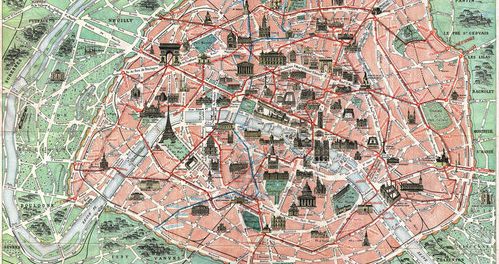 here is a summary of all the main attractions of paris the map is very detailed and has a high resolution click to image for download fullsize map 9mb